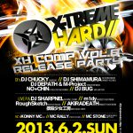 2013/06/02(日曜日) : DJ SHARPNEL on XTREME HARD@渋谷CLUB AXXCIS