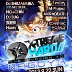 2013/09/22(日曜日) : sharpnel.net on X-TREME HARD – THE INVASION TO NAGOYA@名古屋CLUB JB'S