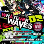 2016/10/23(日曜日) : sharpnel.net on WHATEVER WAVES 02 #WW02@秋葉原MOGRA