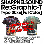 SHARPNELSOUND Re:Graphic-T Type.SRPC-00xx予告