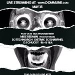 2019/5/15(水)19:00- Dommune「Murder Channel presents Gabba Summit Vol.4 」にDJ SHARPNELトーク出演