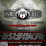 2020.5.30(Sat)インターナショナルHENTAIハードコアオンラインレイヴOHR2020 MASTERS OF HENTAI HARDCOREにDJ SHARPNELが出演