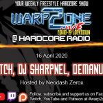 オランダのDJ配信番組WARP2ONE LiveにDJ SHARPNELが出演