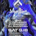 2021.9.18 20:00PDT / 9.19 12:00JST SHELTER x NEO4ICにDJ SHARPNEL出演