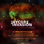 2014/07/26(土曜日) : DJ SHARPNEL on JAYCORE INVASION Vol.3 @ online party
