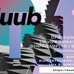 2020.7.4(日)に開催されるオンラインレイヴイベントHuubにDJ SHARPNELが出演