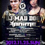 2012/11/25(日曜日) : sharpnel.net on X-Tremehard @ 渋谷Amate-raxi