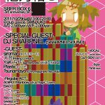 2011/10/29(土曜日) : DJ SHARPNEL on 他力箱6@新宿club axxcis