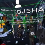 SHARPNELSOUND初のVRクラブイベント開催!現実のクラブを貸し切ってVRChat内のクラブに配信するイベント「HARDTEK CHANNEL VR」を開催しました